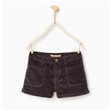 Thời trang trẻ em : Short Zara - Đen