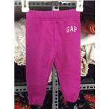 Thời trang trẻ em : Quần nỉ Gap - Hồng tím