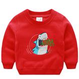 Thời trang trẻ em : Áo nỉ First03 - Cá mập