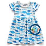Thời trang trẻ em : Váy Xmax - Con cá