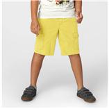 Thời trang trẻ em : Quần short kaki-Vàng