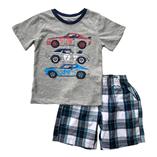 Thời trang trẻ em : Bộ Place  - Siêu xe