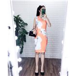 Thời trang trẻ em : Váy suông CK NL- Cam