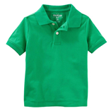 Thời trang trẻ em : áo Oshkosh Polo - xanh lá