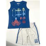 Thời trang trẻ em : Bộ Oshkosh đại - bạch tuột lướt ván nhạt