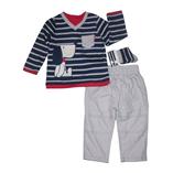 Thời trang trẻ em : Bộ sets 3 món bé trai Yoey - 02