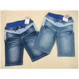 Thời trang trẻ em : VNXK QJ01 - Lưng xanh Jean Đậm