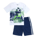 Thời trang trẻ em : Bộ Place đại 018 - Trắng