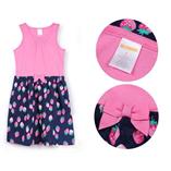 Thời trang trẻ em : Váy Gym sát nách - Trái Dâu