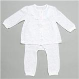 Thời trang trẻ em : Bộ ngủ  Absobra - cotton giấy hoa trắng