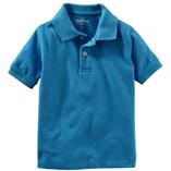 Thời trang trẻ em : áo Oshkosh Polo - xanh dương
