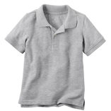 Thời trang trẻ em : áo Oshkosh Polo - xám