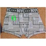 Thời trang trẻ em : Quần sịp đùi - 06, NYC cờ sao kẻ toàn phần
