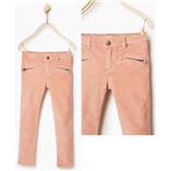 Zara Girl - Nhung lì hồng nude