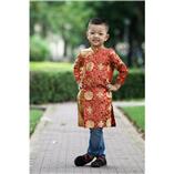 Thời trang trẻ em : Áo dài Xuân 2018 - Bến Thượng Hải