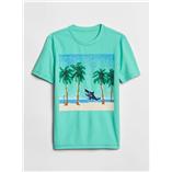 Thời trang trẻ em : áo thun Gap - Biên xanh