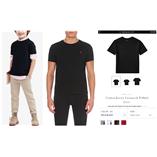 Thời trang trẻ em : Áo thun Polo cổ tròn - 018 Đen
