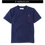 Thời trang trẻ em : Áo thun Polo cổ tròn - 018 Xanh đen