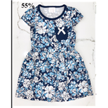 Váy Geejay - Hoa xanh