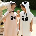 Thời trang trẻ em : Áo Khoác Đi Biển Cho Bé(Trắng)